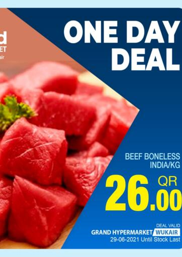 Qatar - Al-Shahaniya Grand Hypermarket offers in D4D Online. One Day Deal. . Only On 29th June