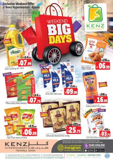 UAE - Sharjah / Ajman Kenz Hypermarket offers in D4D Online. Weekend Big Days. Weekend Big Days Are Now Here At Kenz Hypermarket.Rush Now To Your Nearest Store To Avail At Exciting Offer.Valid Till 07th March 2021  Enjoy Shopping!!!. Till 7th March