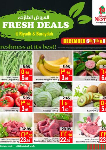 KSA, Saudi Arabia, Saudi - Al Khobar Nesto offers in D4D Online. Fresh Deals. Now you can get your daily products from your favorite brands during 'Fresh Deals' at Nesto Stores! This offer is only valid Until 08th December.. Till 08th December
