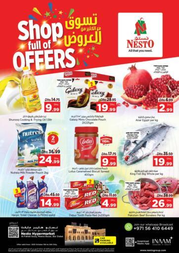 UAE - Sharjah / Ajman Nesto Hypermarket offers in D4D Online. Al Fahidi, Meena Bazaar, Bur Dubai. . Till 13th October