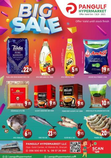 UAE - Sharjah / Ajman Pangulf hypermarket L.L.C offers in D4D Online. Big Sale. . Till 9th October