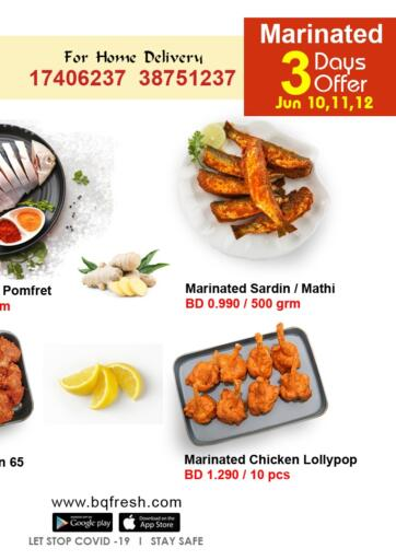 Bahrain BQ Fresh offers in D4D Online. 3 Days Offer. . Till 12th June