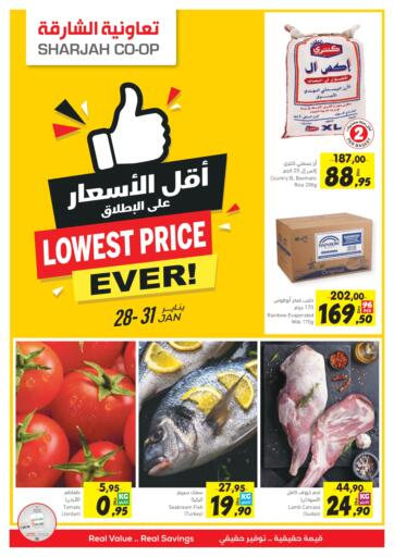 UAE - Fujairah Sharjah Co-Op Society offers in D4D Online. Lowest Price Ever. . Till 31st January