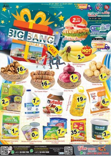 UAE - Ras al Khaimah Gulf Hypermarket offers in D4D Online. Big Bang Sale. . Till 23rd January