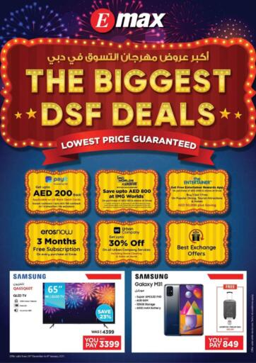 UAE - Ras al Khaimah Emax offers in D4D Online. The Biggest DSF Deals. . Till 6th January