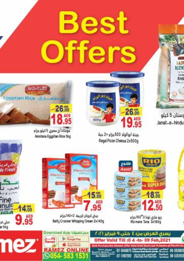 UAE - Abu Dhabi Aswaq Ramez offers in D4D Online. Best Offers. Best Offers At Aswaq Ramez, Offers Going On For  Fresh Foods, Groceries & Selected Items. Grab Your Favorites At Low Price.  Offer Valid Till 9th February. Happy Shopping!!!. Till 09th February