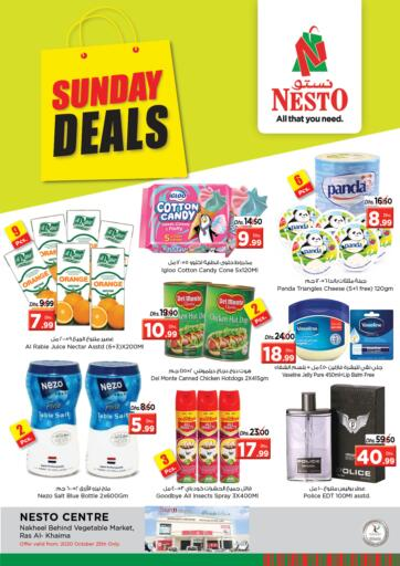 UAE - Ras al Khaimah Nesto Hypermarket offers in D4D Online. Ras Al Khaima. . Only on 25th October