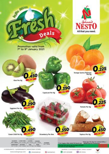 Bahrain NESTO  offers in D4D Online. Fresh Deals. . Till 9th January