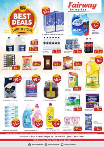 UAE - Sharjah / Ajman Fairway The Market offers in D4D Online. Best Deals. . Till 06th March