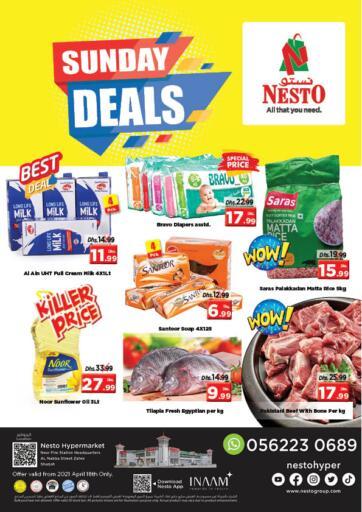 UAE - Sharjah / Ajman Nesto Hypermarket offers in D4D Online. Al Nabba Street Zahra - Sharjah. . Only On 18th April