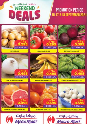 Bahrain MegaMart & Macro Mart  offers in D4D Online. Weekdend Deals. Weekdend Deals at MegaMart & Macro Mart !  Offers on Groceries,Home appliances,Stationery,Clothes much more are valid Till 18th September Get it Now!! Enjoy Shopping!. Till 18th September