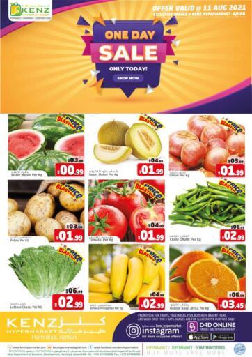 UAE - Sharjah / Ajman Kenz Hypermarket offers in D4D Online. One Day Sale. . Only On 11th August