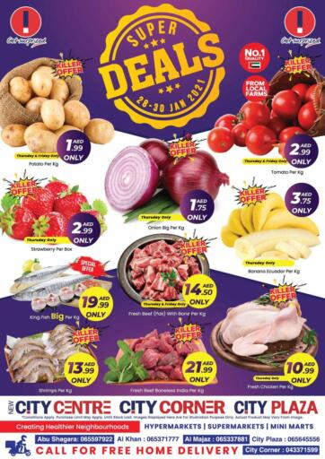 UAE - Sharjah / Ajman City Plaza offers in D4D Online. Super Deals. . Till 30th January