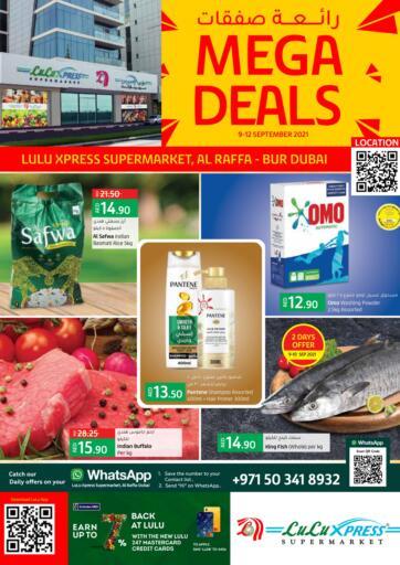 UAE - Ras al Khaimah Lulu Hypermarket offers in D4D Online. Mega Deals @ Raffa, Bur Dubai. . Till 12th September