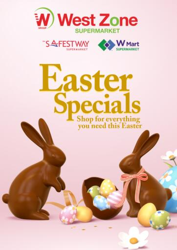 UAE - Abu Dhabi West Zone Supermarket offers in D4D Online. Easter Specials. . Till 06th March