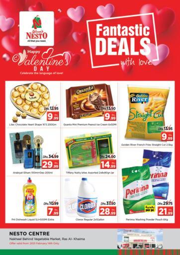 UAE - Ras al Khaimah Nesto Hypermarket offers in D4D Online. Ras Al Khaima. . Only On 14th February