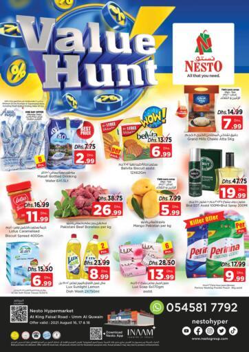 UAE - Dubai Nesto Hypermarket offers in D4D Online. Umm Al Quwain. . Till 18th August