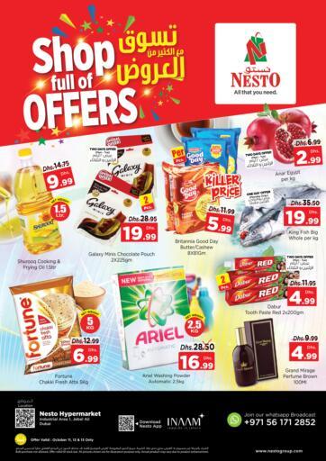 UAE - Sharjah / Ajman Nesto Hypermarket offers in D4D Online. Jebel Ali, Dubai. . Till 13th October