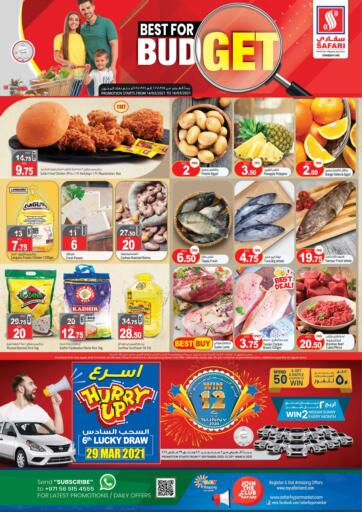 UAE - Sharjah / Ajman Safari Hypermarket  offers in D4D Online. Best For Budget. . Till 16th March