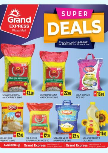Qatar - Al Wakra Grand Hypermarket offers in D4D Online. Super Deals. Super Deals Offers Are Available At Grand Hypermarket. Offers Are Valid Till 19th February. Enjoy!!. Till 19th February