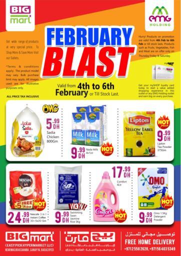 UAE - Abu Dhabi BIGmart offers in D4D Online. February Blast @Badazayed. . Till 6th February