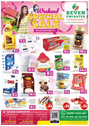 UAE - Abu Dhabi Seven Emirates Supermarket offers in D4D Online. Weekend Special Sale. . Till 11th September