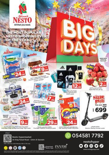 UAE - Umm al Quwain Nesto Hypermarket offers in D4D Online. Umm Al Quwwain.