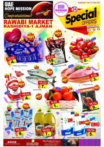UAE - Sharjah / Ajman Rawabi Market Ajman offers in D4D Online. Special Offers. . Till 13th February
