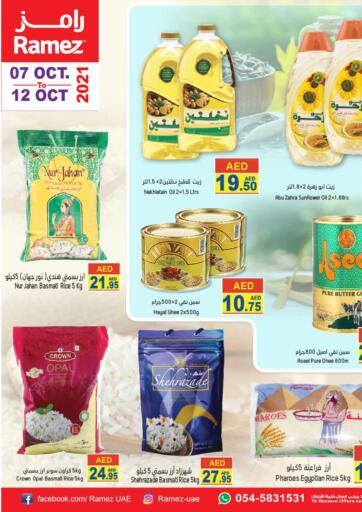 UAE - Sharjah / Ajman Aswaq Ramez offers in D4D Online. Special Offer. . Till 12th October