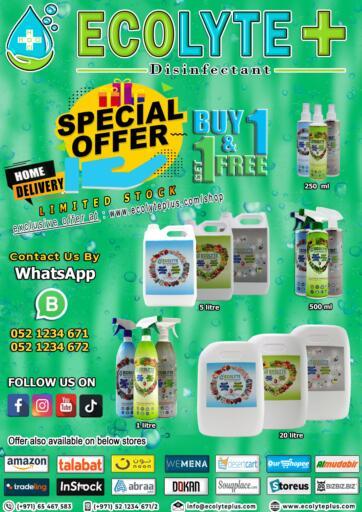 UAE - Ras al Khaimah ECOLYTE+ offers in D4D Online. Special offer. . Till 30th November