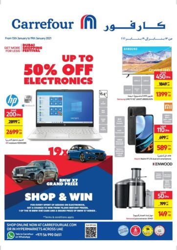 UAE - Ras al Khaimah Carrefour UAE offers in D4D Online. Up To 50% Off on Electronics. Up To 50% Off on Electronics At Carrefour UAE. Get Best Offers On  Electronic Items, Appliances, Gadgets, Toys, Fitness items, Home Needs, Groceries &  Many More At Their Store. Everything At A Single Place Offer Valid Till 19th January 2021. Enjoy Shopping !!. Till 19th January