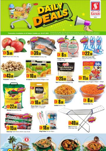 Qatar - Al-Shahaniya Safari Hypermarket offers in D4D Online. Daily Deals. . Only On 3rd July