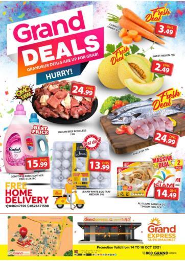 UAE - Dubai Grand Hyper Market offers in D4D Online. Express Supermarket,Dubai. . Till 16th October