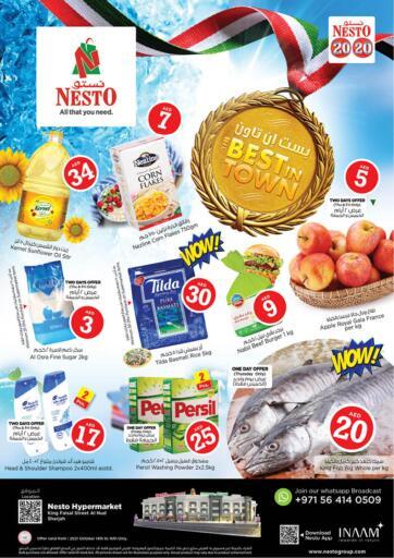 UAE - Fujairah Nesto Hypermarket offers in D4D Online. Al Nud, Sharjah. . Till 16th October