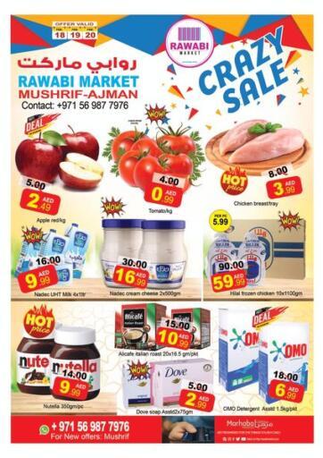 UAE - Sharjah / Ajman Rawabi Market Ajman offers in D4D Online. Mushrif, Ajman. . Till 20th February