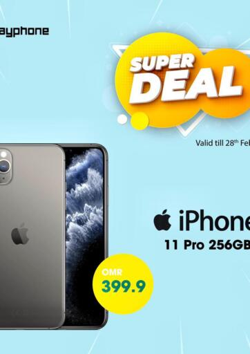 Oman - Muscat Playphone offers in D4D Online. Super Deal. . Till 28th February
