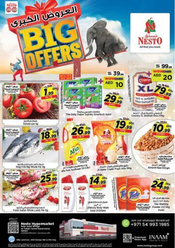UAE - Fujairah Nesto Hypermarket offers in D4D Online. Al Tallah, Ajman. . Till 17th October