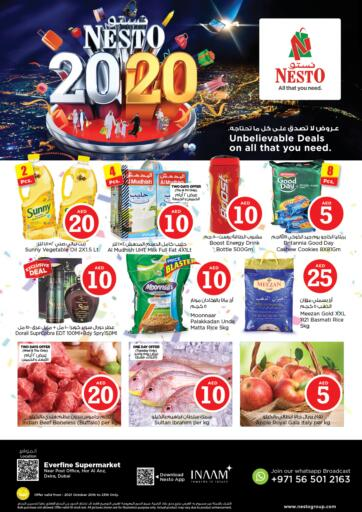UAE - Dubai Nesto Hypermarket offers in D4D Online. Hor Al Anz,Deira Dubai. . Till 23rd October