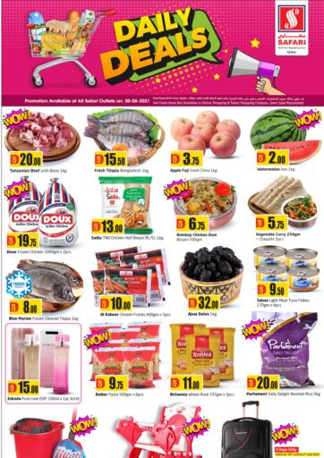 Qatar - Al-Shahaniya Safari Hypermarket offers in D4D Online. Daily Deals. . Only On 30th June