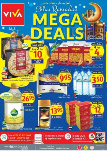 UAE - Dubai Viva Supermarket offers in D4D Online. Ahlan Ramadan, Mega Deals. . Till 6th April