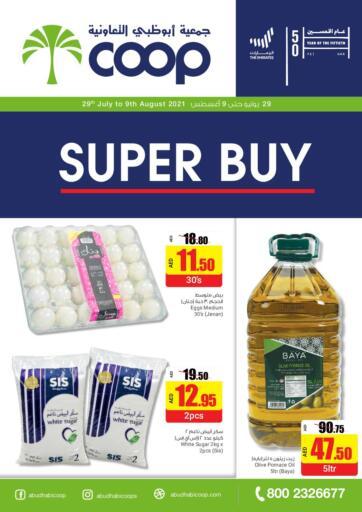 UAE - Abu Dhabi Abu Dhabi COOP offers in D4D Online. Super Buy. . Till 9th August
