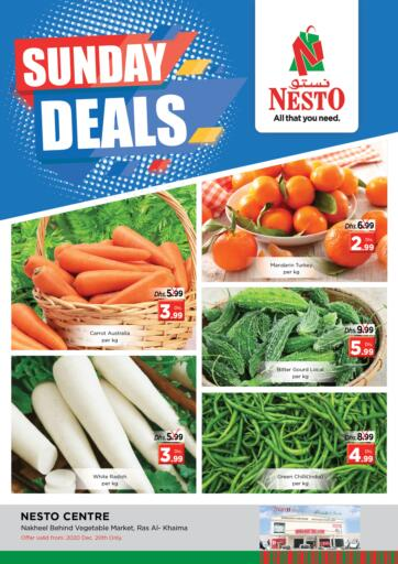 UAE - Ras al Khaimah Nesto Hypermarket offers in D4D Online. Ras Al Khaima. . Only on 20th December
