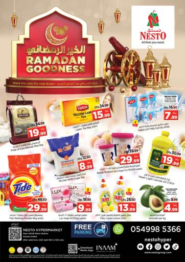 UAE - Dubai Nesto Hypermarket offers in D4D Online. Karama,Dubai. . Till 10th April