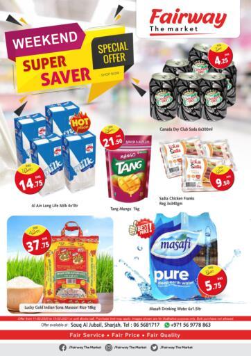 UAE - Sharjah / Ajman Fairway The Market offers in D4D Online. Weekend Super Saver. . Till 13th February