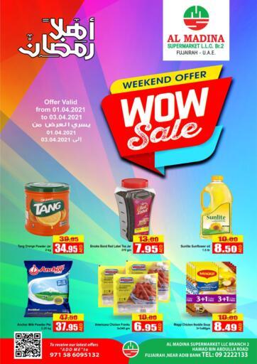 UAE - Fujairah Al Madina Supermarket LLC offers in D4D Online. WOW Sale. . Until Stock Last