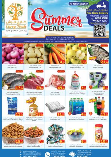 Qatar - Al-Shahaniya Carry Fresh Hypermarket offers in D4D Online. Summer Deals @ Al Nasr. . Till 11th August