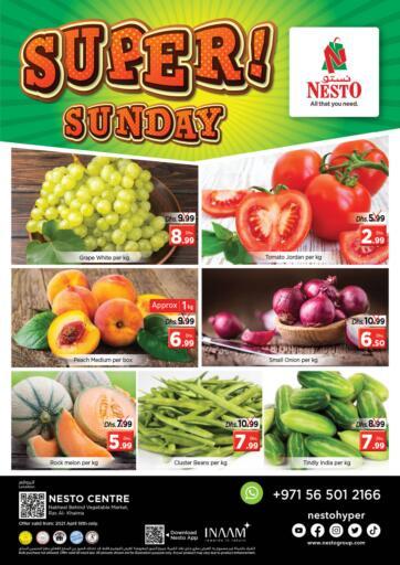UAE - Ras al Khaimah Nesto Hypermarket offers in D4D Online. Ras Al Khaima. . Only On 18th April