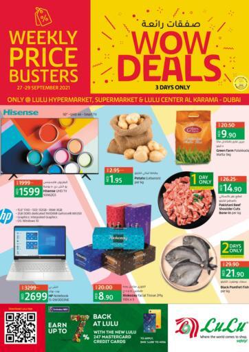 UAE - Ras al Khaimah Lulu Hypermarket offers in D4D Online. Wow Deals @ Al Karama. . Till 29th September