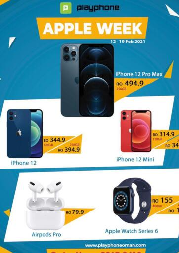 Oman - Muscat Playphone offers in D4D Online. Apple Week. . Till 19th February