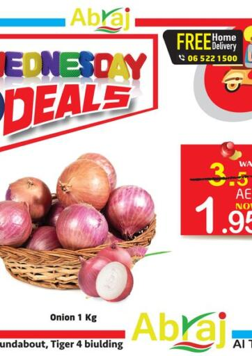 UAE - Sharjah / Ajman Abraj Hypermarket offers in D4D Online. Wednesday Deals. . Only on 17th March